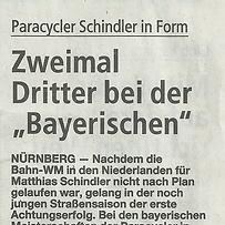 """Zweimal Dritter bei der """"Bayerischen"""""""