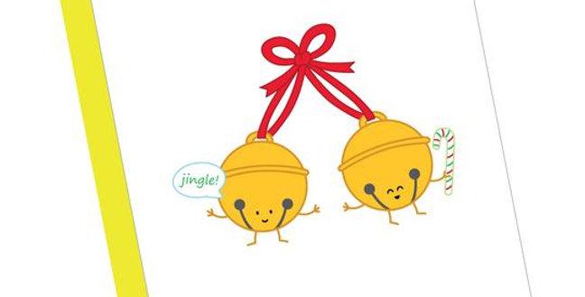 Jingle! Greeting Card