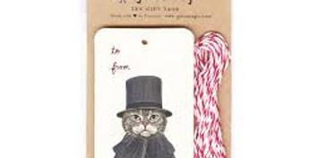 Cat or Dog Hanging Gift tags