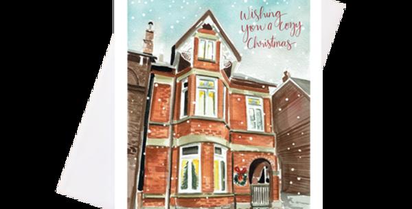 Cozy Christmas-Greeting Card