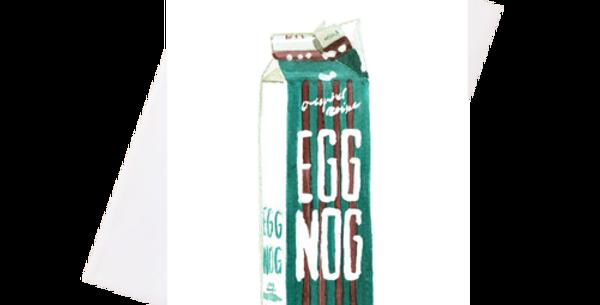 Eggnog -Greeting Card