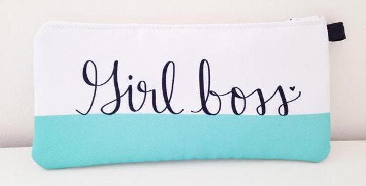 """GIRL BOSS"" Pencil Case"