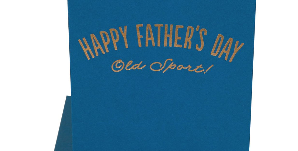 Old Sport-Father's Day card