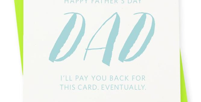 FATHERS DAY- EVENTUALLY