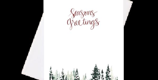 Seasons Greetings -Greeting Card