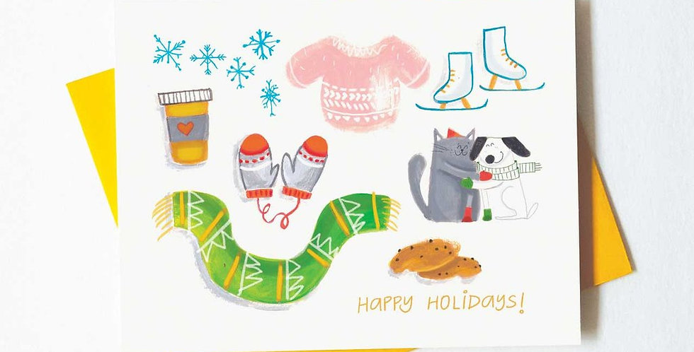 Holiday Essentials Holiday card