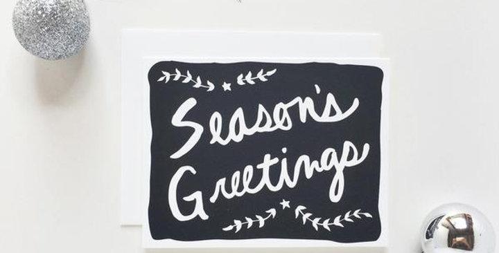 Seasons Greetings ( Bold) -Greeting card