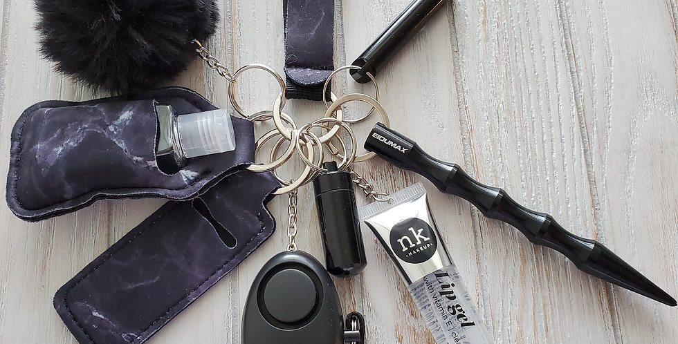 Midnight- Self Defense Keychain