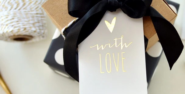 """""""With Love"""" Gift tags"""