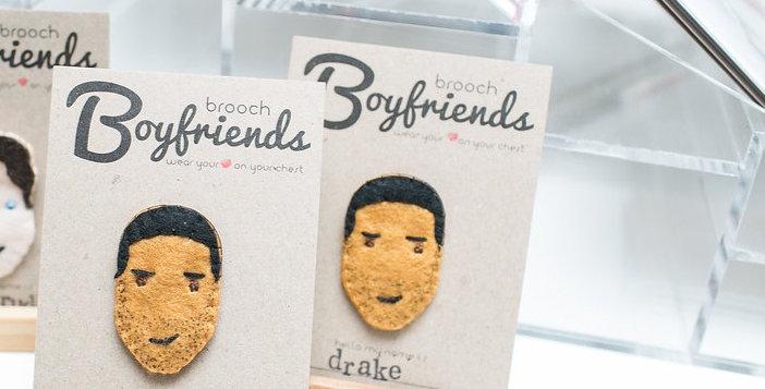 Drake Brooch Boyfriend