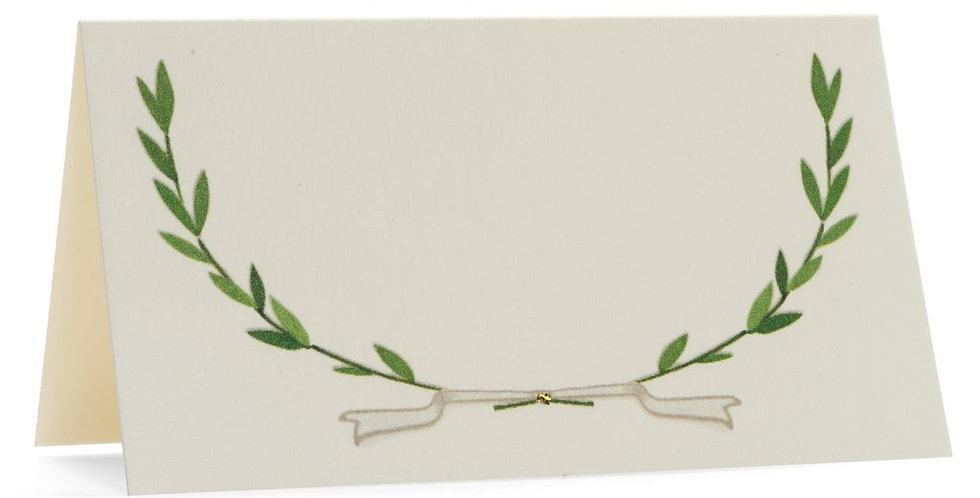 Karen Adams - Avery Wreath Place cards