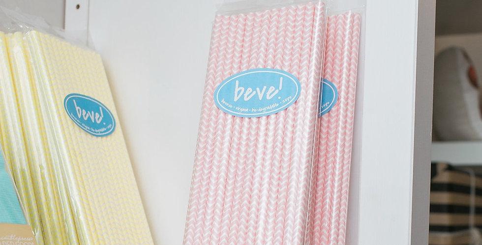 Paper Straws- Pkg of 25