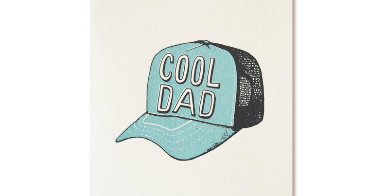 Cool Dad- Greeting Card