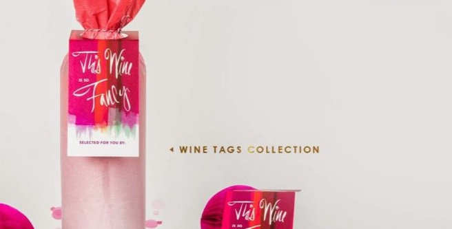 This wine is so Fancy...Wine Tags