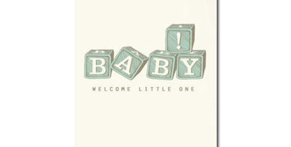 Hello Little One! -Greeting card