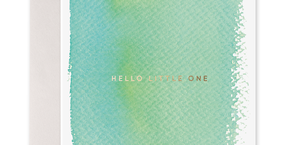 Hello Little One- Greeting Card