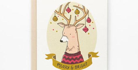 Merry & Bright- Reindeer