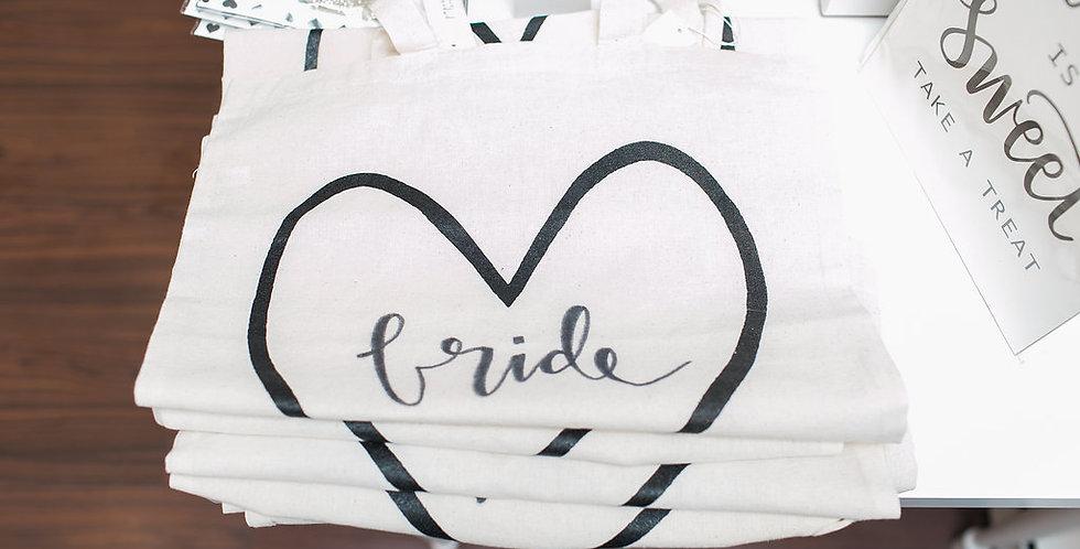 Bridal Party Natural Tote Bags