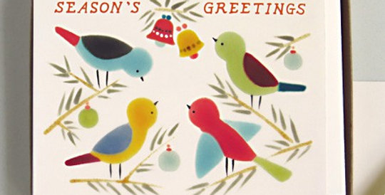 Season's Greetings- Greeting Card