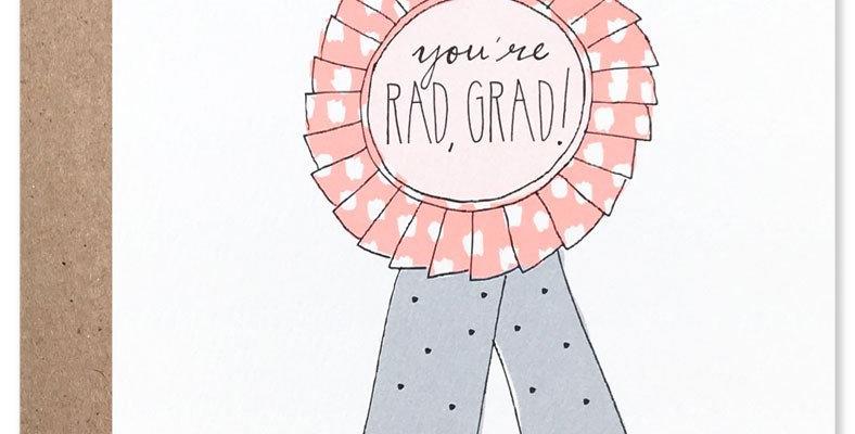 Rad Grad-Card