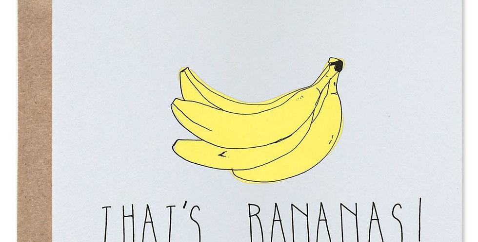 That's Bananas Card
