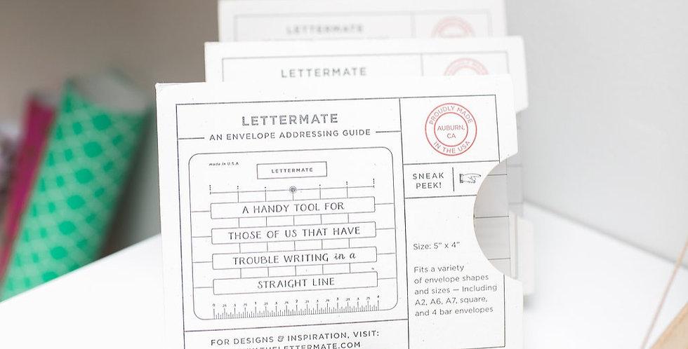 The Lettermate Ruler