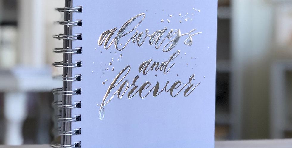 Always & Forever Custom Wedding Planner Book