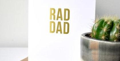 RAD DAD- Greeting Card