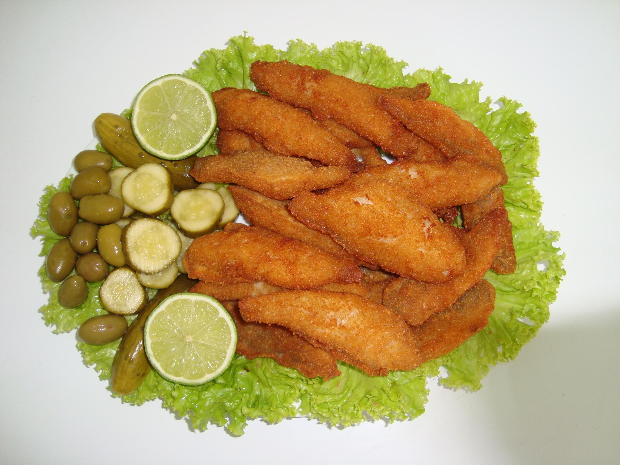 peixe a milanesa