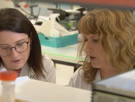 Sperm discovery - on the news!