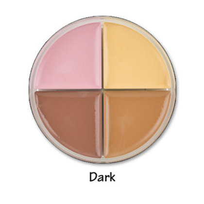 Skin Tone Corrector Quad - Dark