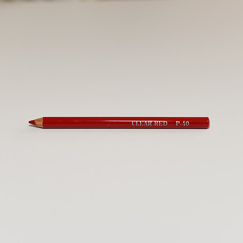 Clear Red Lip Pencil