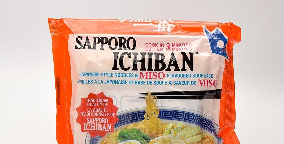 Sapporo Ichiban Miso Ramen Noodle Pack