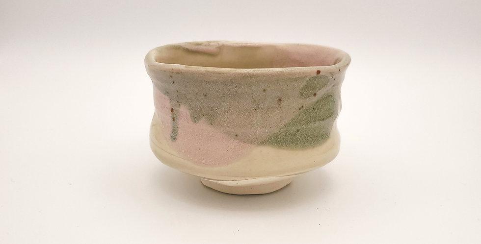 Grey And Pink Matcha Bowl