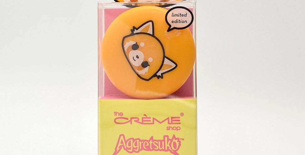 THE CREME SHOP Aggretsuko Raspberry Lip Balm