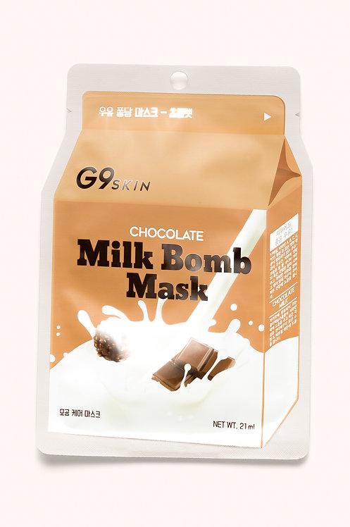 Milk Bomb Mask Chocolate