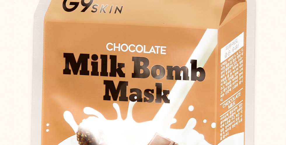 G9 Milk Bomb Mask Chocolate