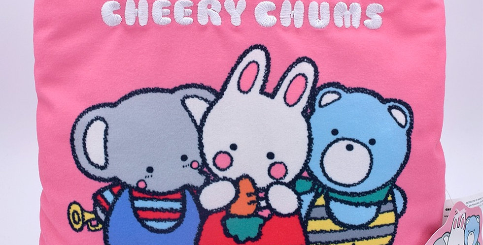 Cheery Chums Pillow