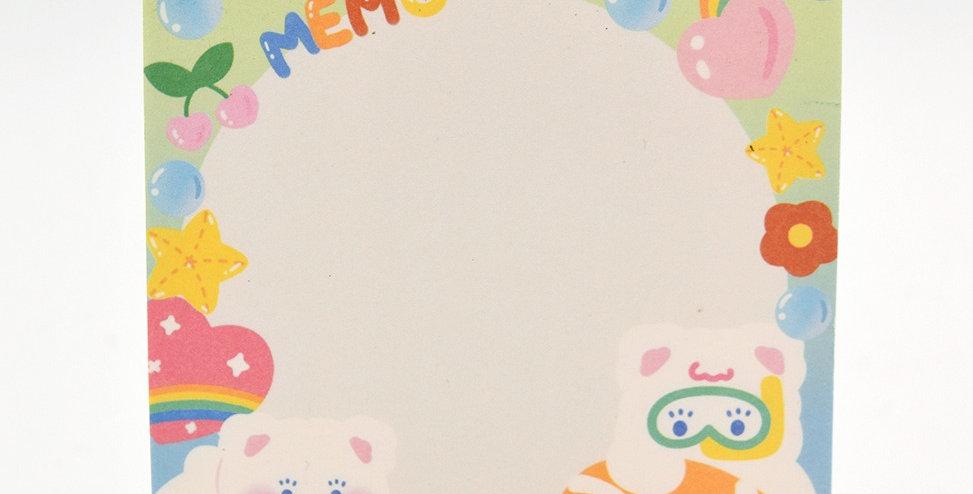 Milkjoy Memo Pad