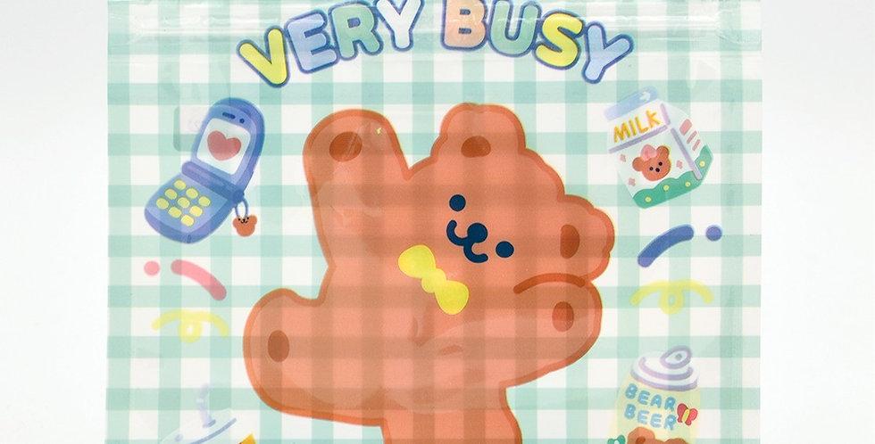 Cake Bear Zip Pouch