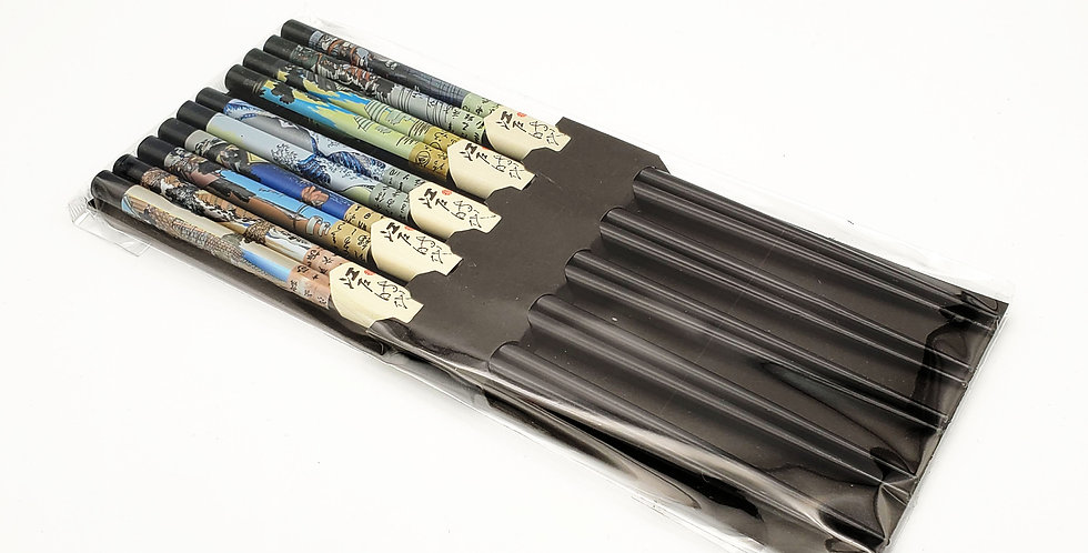 Hokusai Chopstick Set