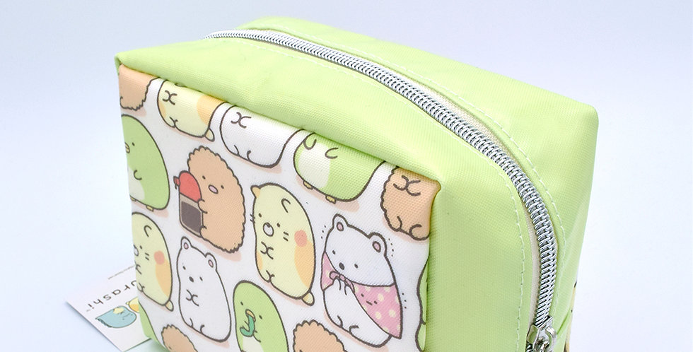 Sumikkogurashi Green Character Pencil Case