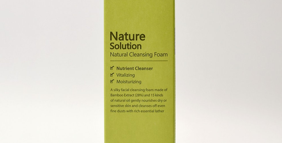 THE PLANT BASE Nature Solution Cleansing  Foam