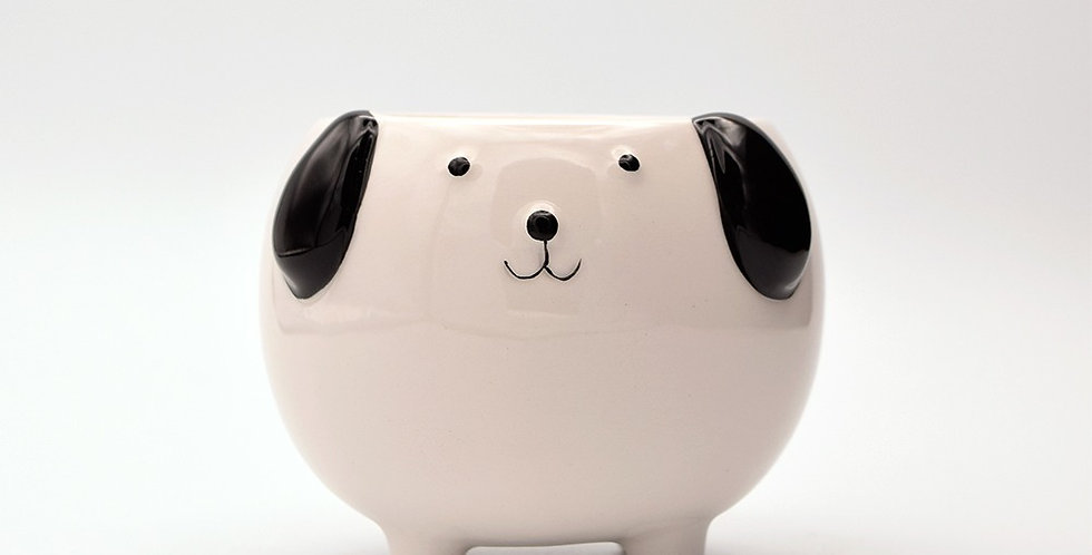 Cute Puppy Planter