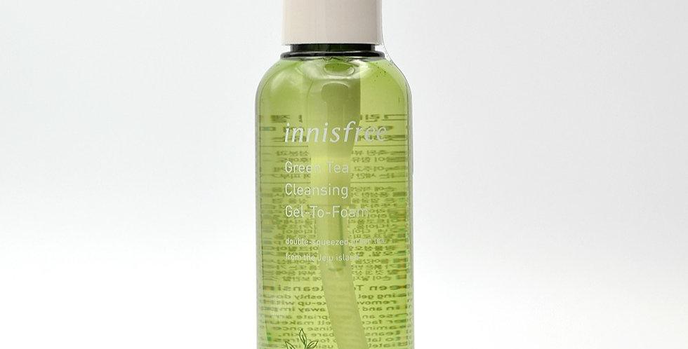 INNISFREE Green Tea Cleansing Gel-to-Foam 150ML