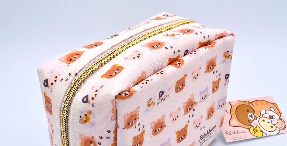 Rilakkuma Cute Kitty Pencil Case White