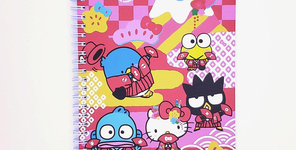 SANRIO 60th Anniversary Notebook