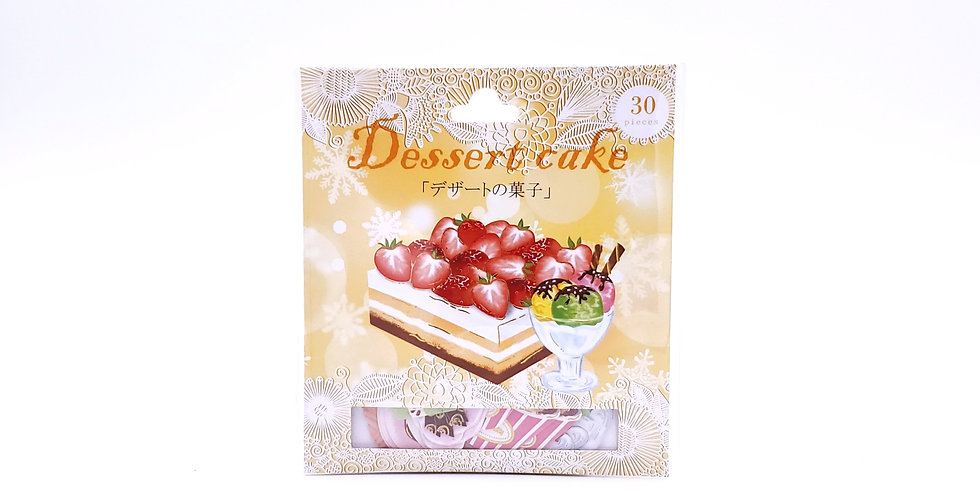 Dessert Cake Sticker Pack