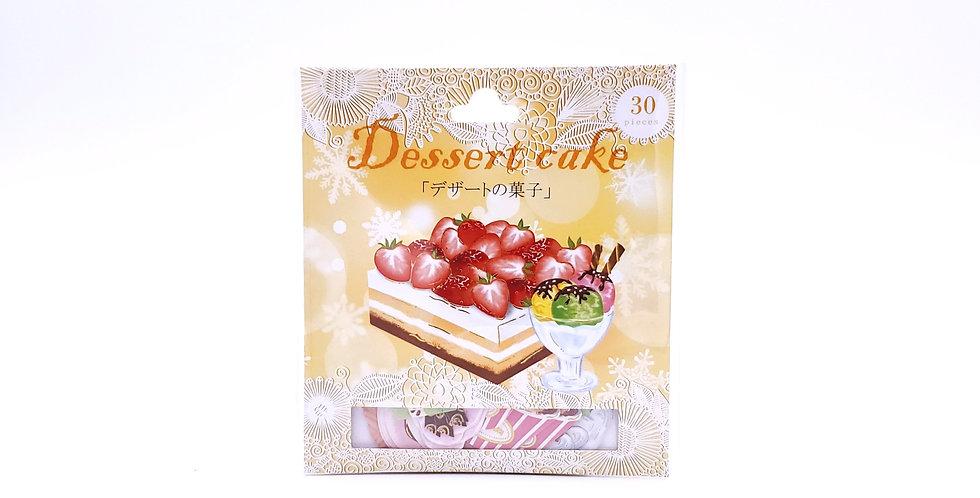 Dessert Cake Sticker Pack