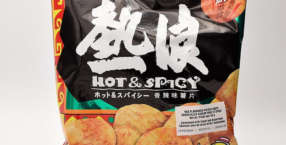 Calbee Hot & Spicy Potato Chips